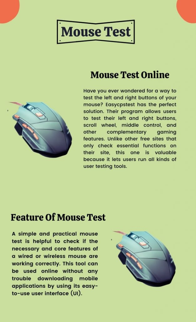 Online Mouse Test